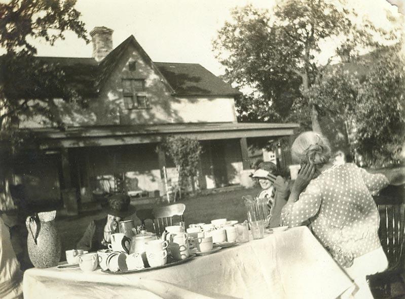 Ready for Tea at Maryboro Lodge