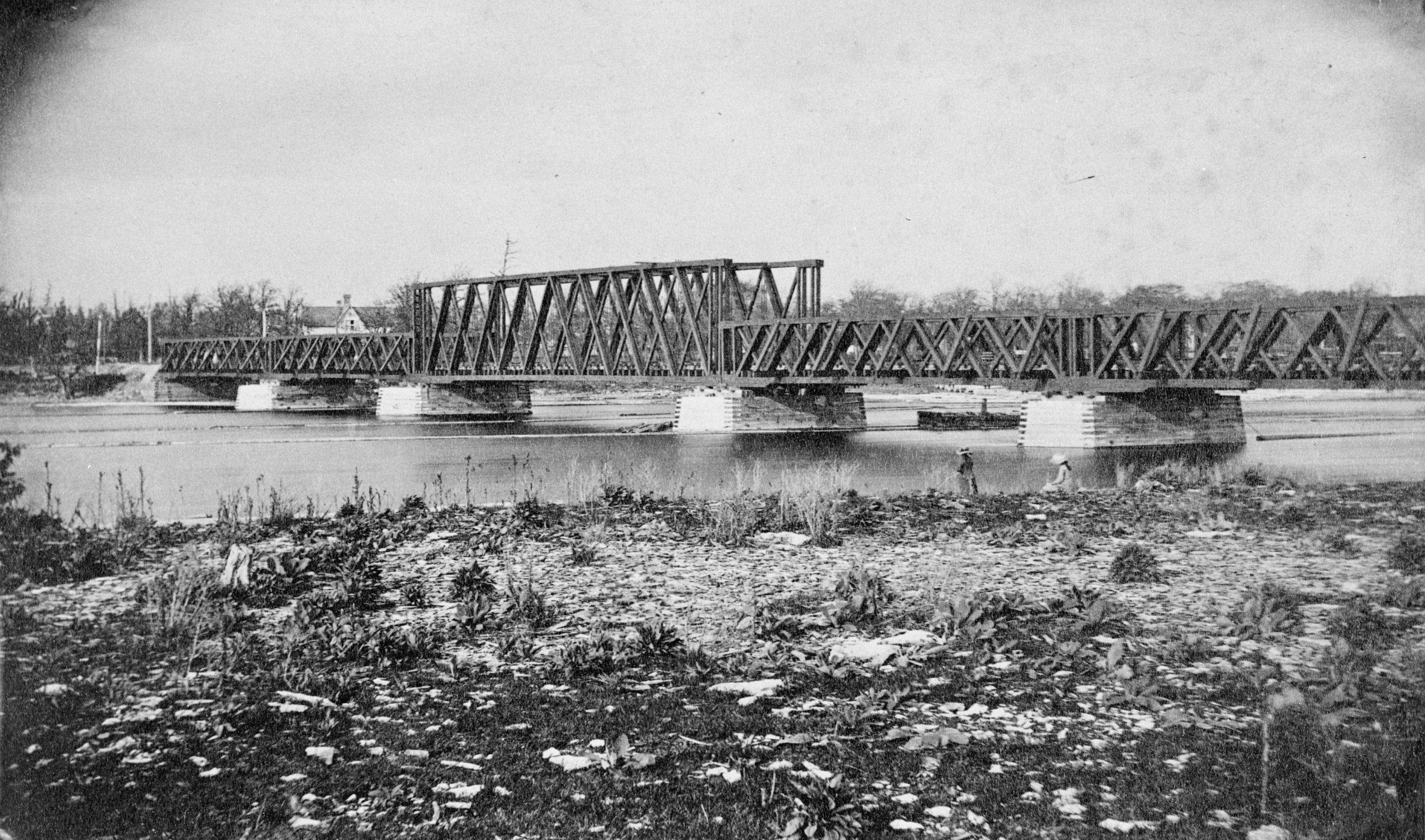 Original Fenelon Train Bridge